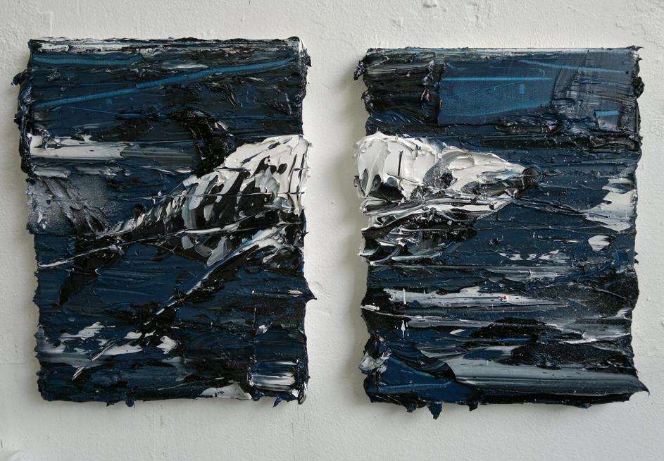 2x30x40 cm, 2012 (sold)
