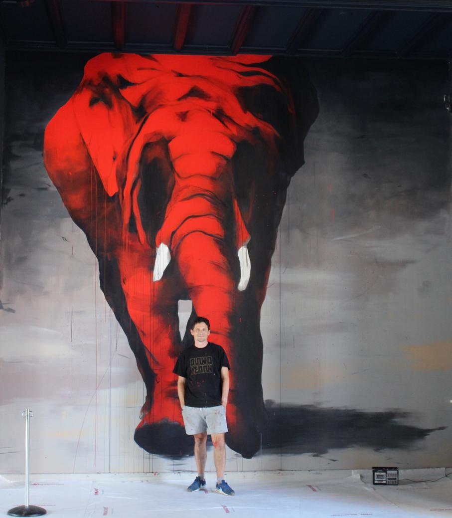mural Drents Museum, Assen 2020
